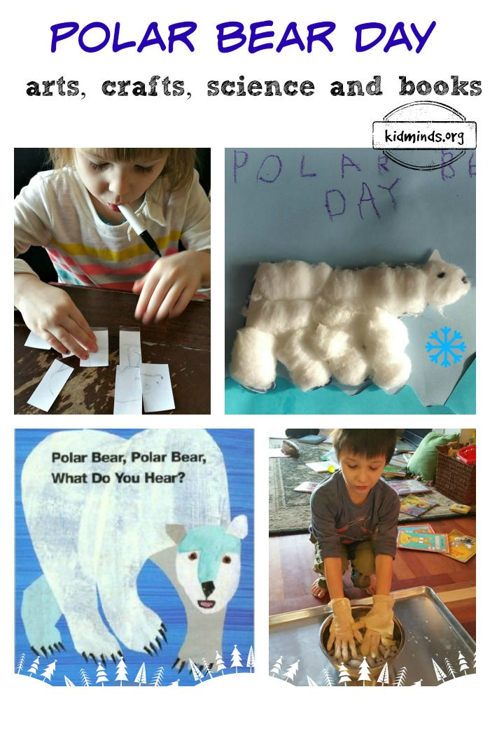 Polar Bear arts, crafts, science and books.