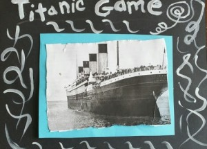 Titanic Math Game: cooperative board game for children 4-12