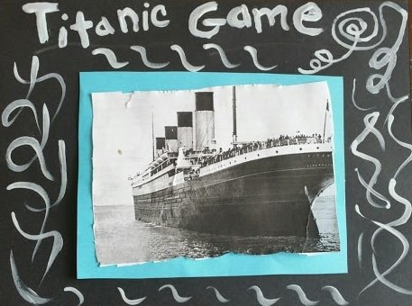 Titanic Math Game: cooperative board game for children 4-12