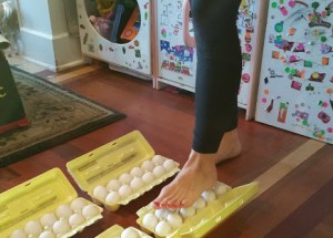 I'm standing on Eggs… and you can too
