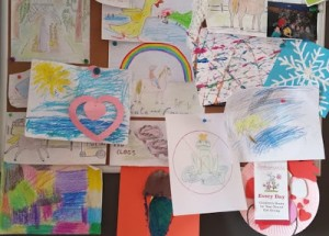 Organizing Kids Artwork