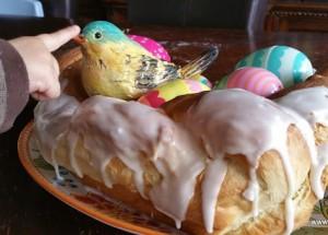 Bird's Nest – yummy brioche (bread-machine recipe)