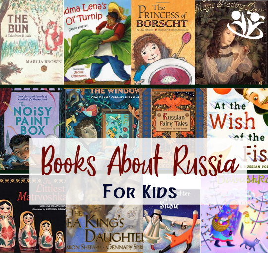 Engaging Children's Books About Russia
