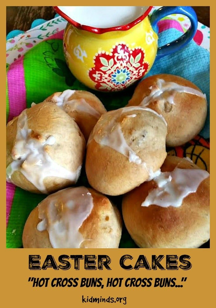 "Hot Cross Buns are easy and fun. I love that making buns together offers a bonding opportunity. We parents spend the majority of our time taking care of business, so it's nice once in a while to push ""pause"" and just be with kids in a moment. #hotcrossbuns #kidscook"