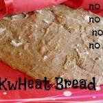 Buckwheat Bread – no yeast, no milk, no eggs, no knead recipe