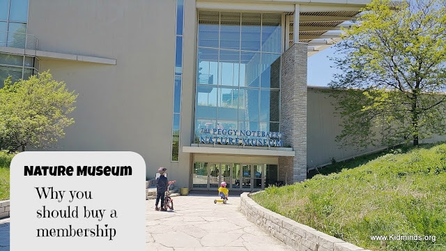 Nature Museum - Why you should buy a membership