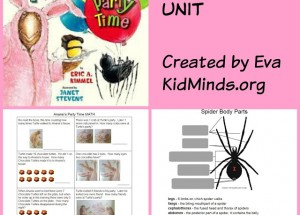 Anansi's Party Time – Literature Unit
