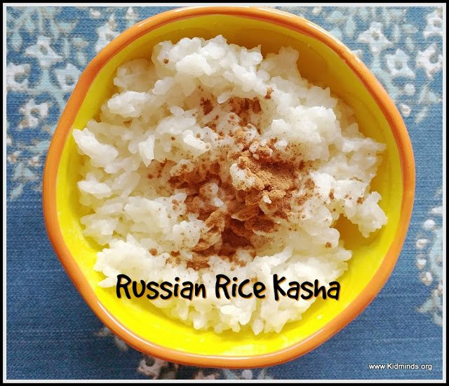 Russian Rice Kasha is a breakfast dish that can be eaten anytime of the day.