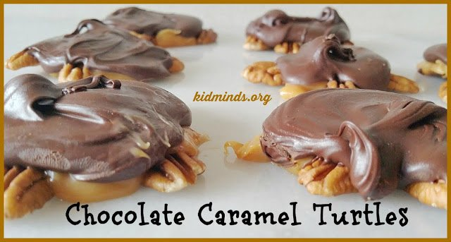 Chocolate Caramel Turtles