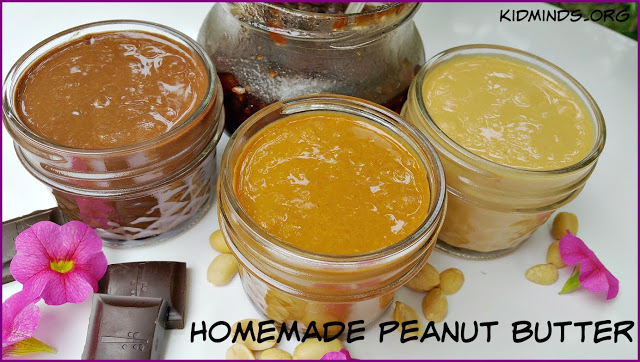 Homemade Peanut Butter