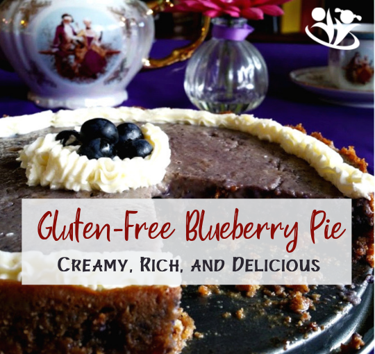Dream Blueberry Pie (gluten free)