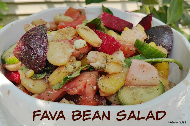 Fava Bean Salad (Kids Can Make)