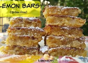 Lemon Bars (gluten-free)