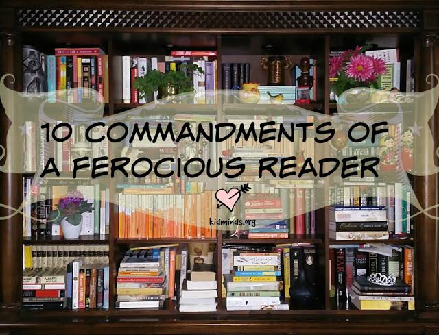 Ten Commandments of a Ferocious Reader