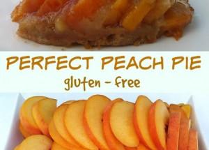 Perfect Peach Pie (gluten-free)