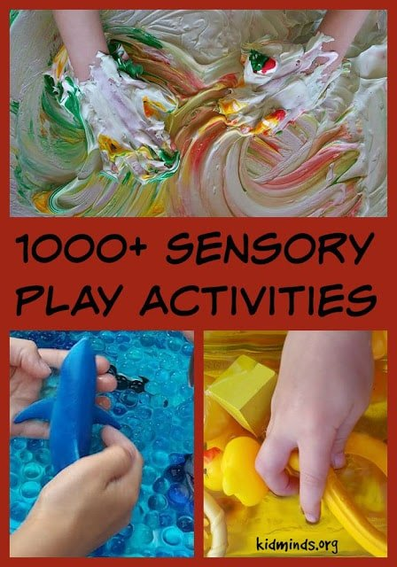 Our favorite sensory play ideas for different ages.