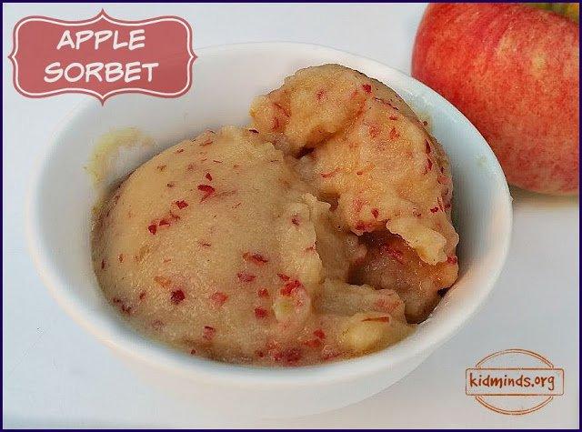 Apple Sorbet #fall #glutenfree