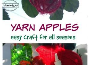 Yarn Apple Craft
