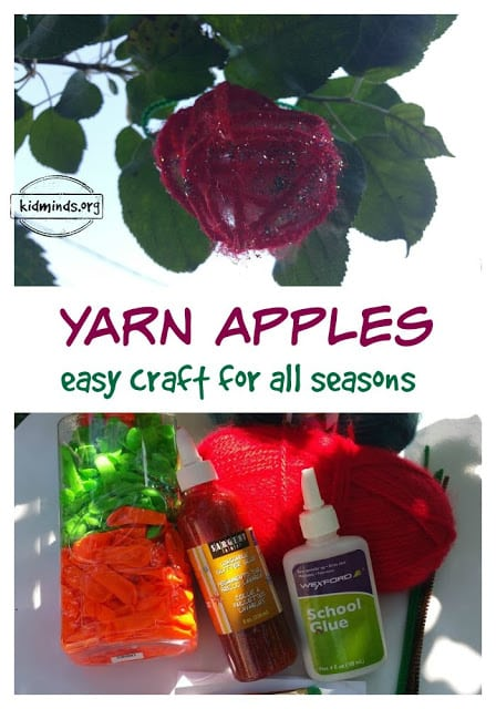 Yarn Apple Craft