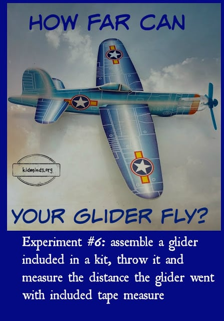Science at home // How far can a glider fly // Assemble a glider included in a kit, throw it as far you can and measure the distance