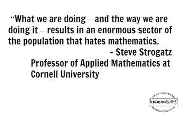 Mathful parents: nurturing child's love of math.