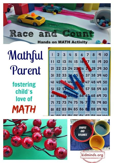 Mathful Parent: fostering child's love of math in creative ways