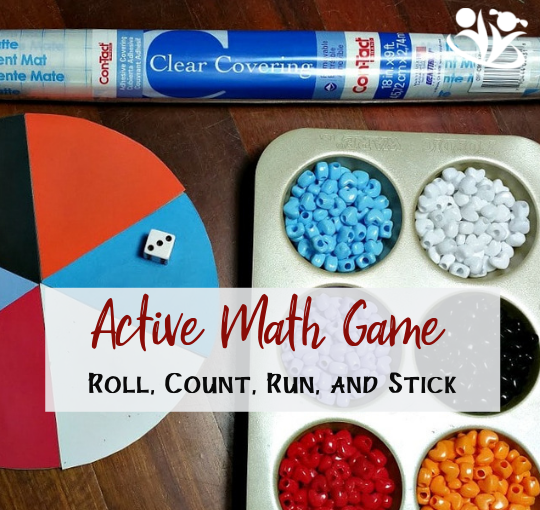 Active Math: Roll, Count, Run and Stick