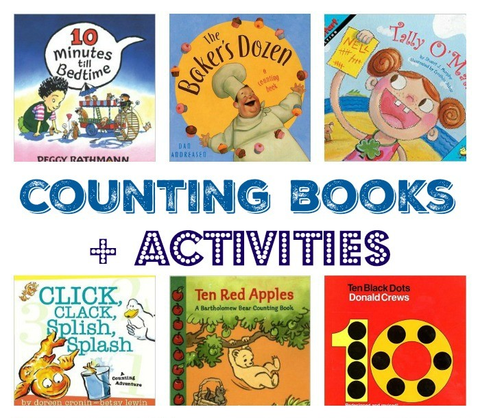 Counting Books + Activities: Developing Early Math Skills
