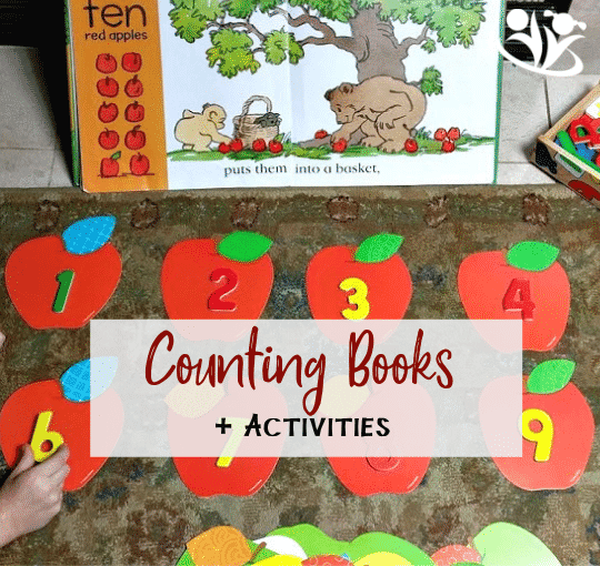 develop early math skills with fun counting books and hands-on activities.