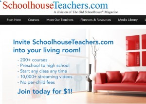 SchoolhouseTeachers.com Review Yearly Membership