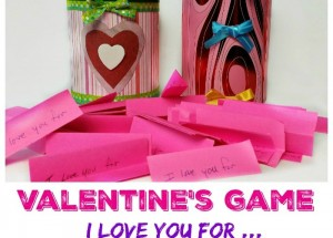 Valentine's Day Game: I love you for…
