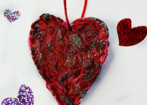 How to make a Valentine's Day 3D Heart