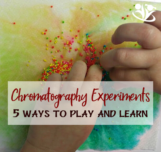 Chromatography Experiments with Kids - 5 ways