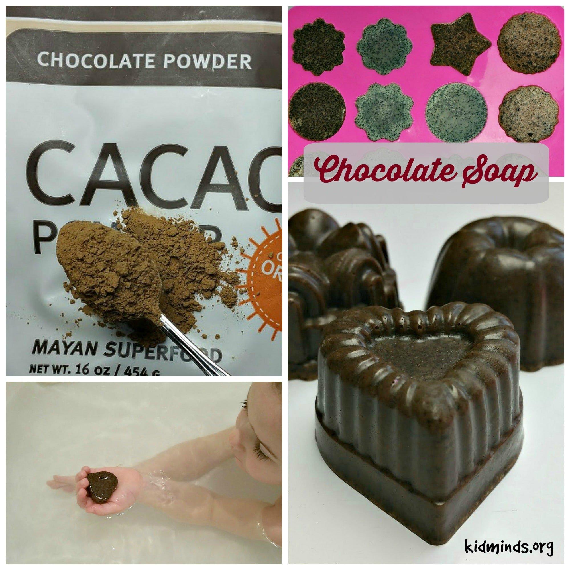 Handmade Soap the easy way: Chocolate Soap