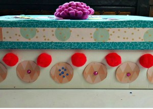 Shoebox Treasure Chest for Kids