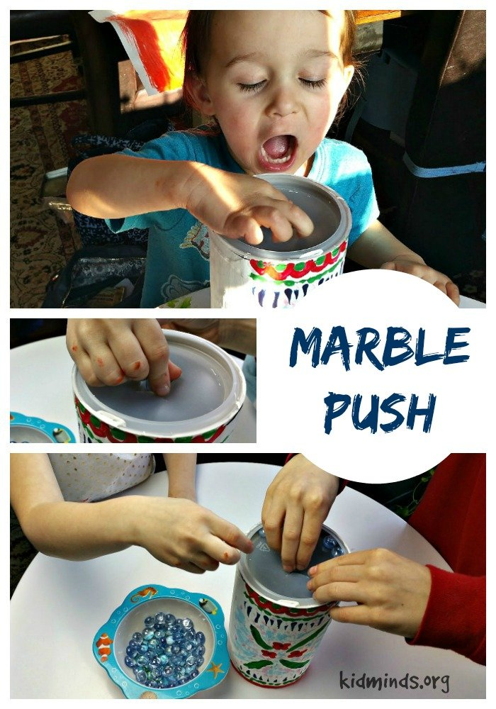 Ten Uses for Dollar Store Flat Marbles - Marble Push