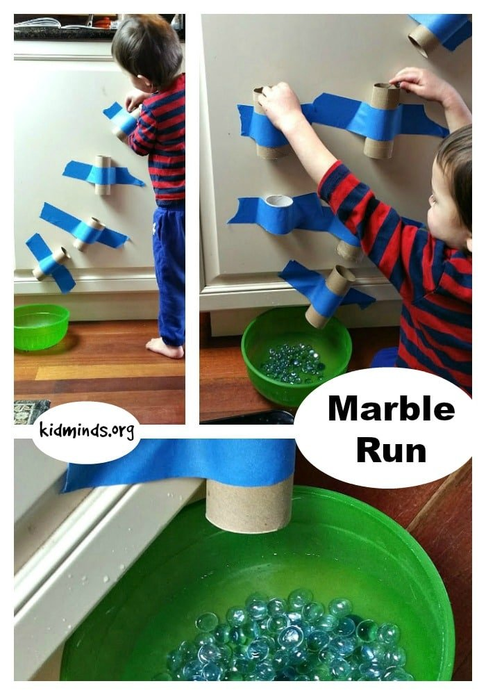 Ten Uses for Dollar Store Flat Marbles - Marble Run
