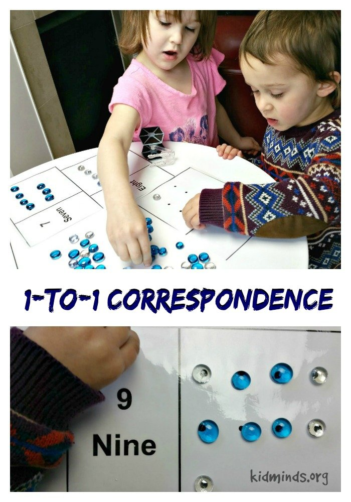 Ten Uses for Dollar Store Flat Marbles - one-to-one correspondence / budget math manipulative