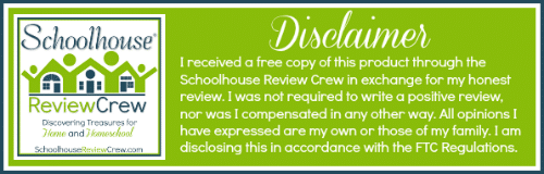 Schoolhouse Team Review Crew Disclaimer