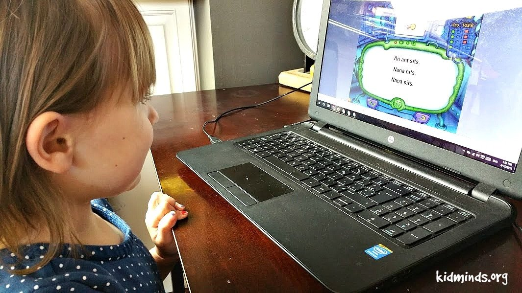 Read, Write and Type by Talking Finger Inc. Early learning program