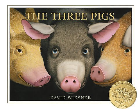 Three Little Pigs, written and illustrated by David Wisler