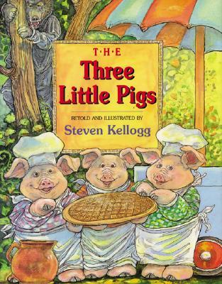 The Three Little Pigs, retold and illustrated by Steven Kellogg