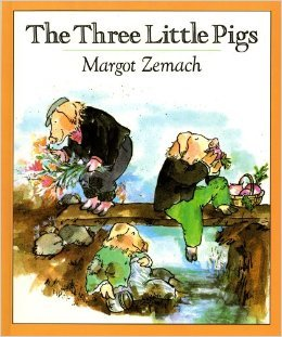 The Three little Pigs: an old Tale by Margot Zemach