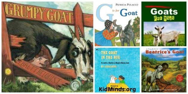 Best Books about Goats for Kids