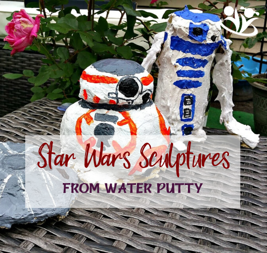Star Wars Sculptures from Water Putty