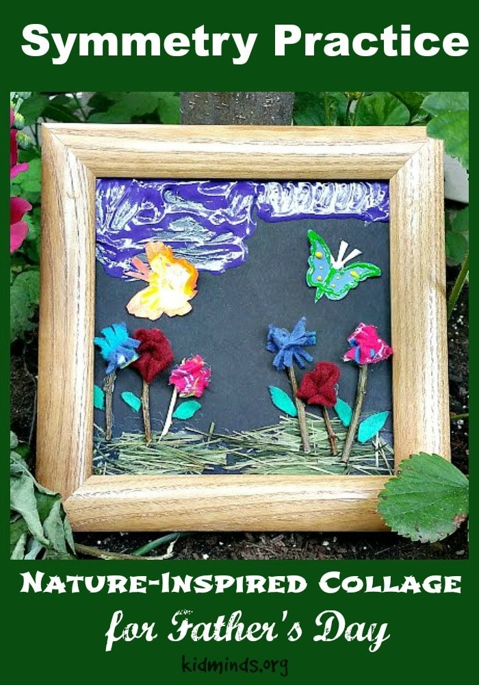 Teach Symmetry with a Backyard Nature Collage. There are so many wonderful ways to merge math and art, if only you remember that math is more than manipulating numbers and art is more than painting, music, literature and dance.