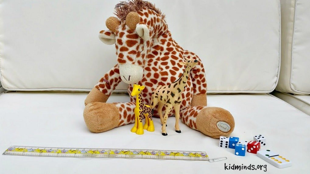 Giraffe Science Math and Measurement