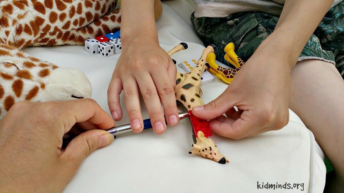Giraffe Science Math and Measurement2