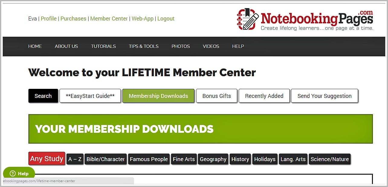 Notebooking Pages Lifetime Membership grants a lifetime access to thousands of pages, themes, designs and more.
