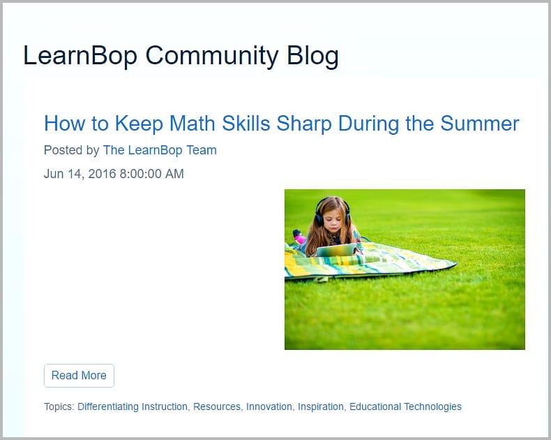 Online math tutoring LearnBop Review6